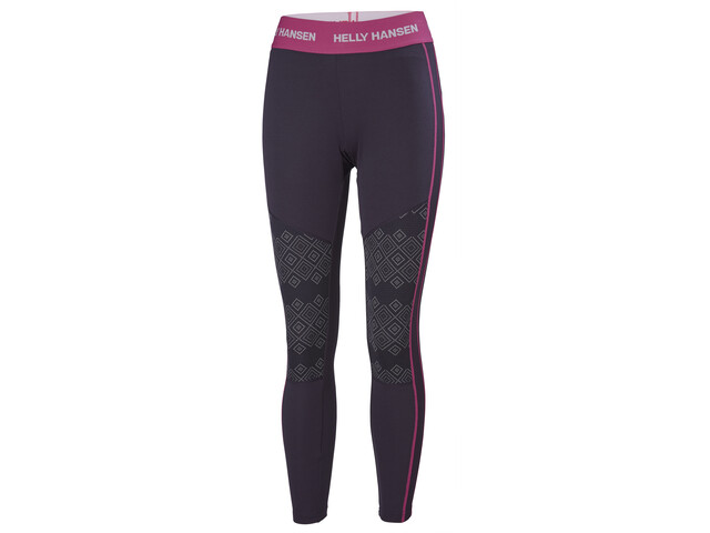 Helly Hansen Lifa Active Graphic Pants Dame Nightshade dotted Print